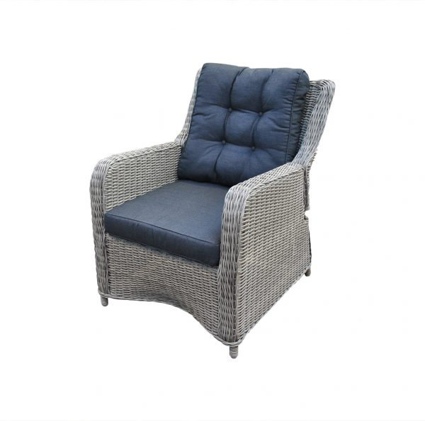 wicker loungestoel